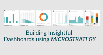 Building Insightful Dashboards using MicroStrategy