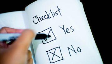 The Real Estate Market Checklist